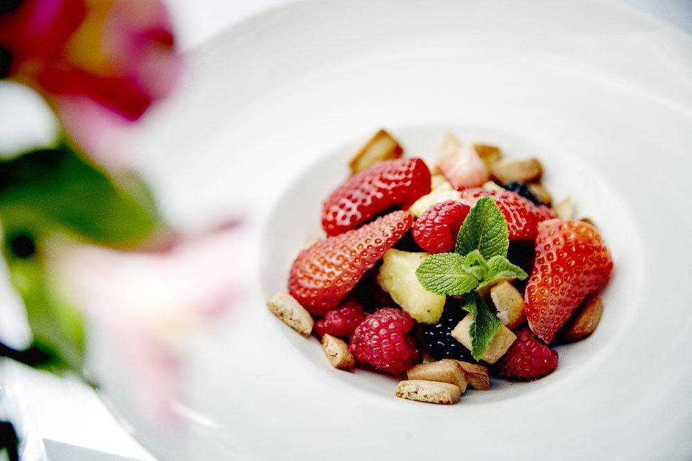 Sustituye el dulce por fruta