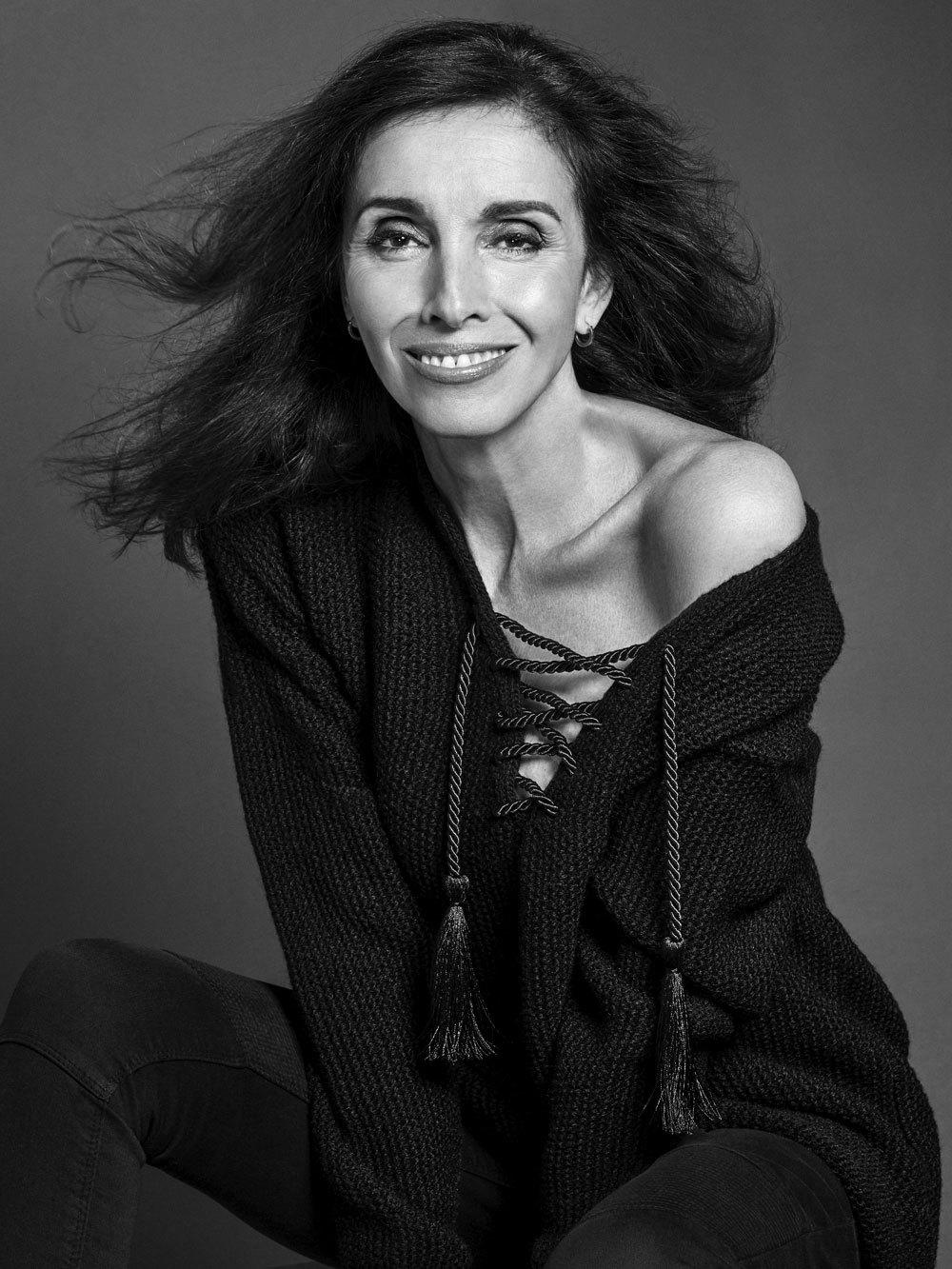 Ana Belén en nuestra sesión de fotos