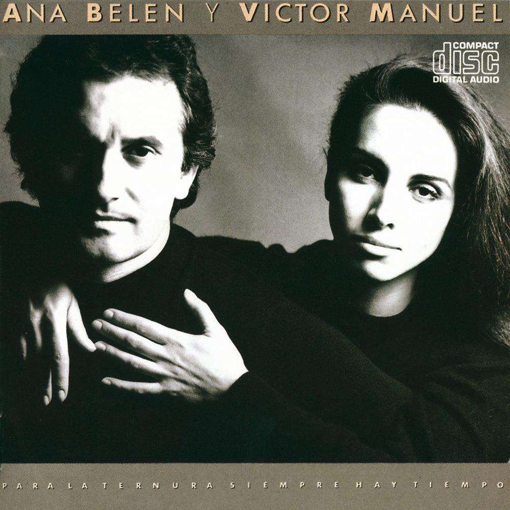 Ana Belén y Víctor Manuel en la portada de un disco
