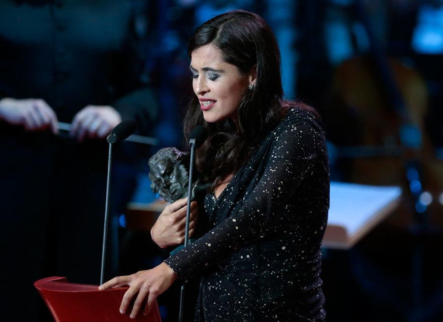 Silvia Pérez Cruz en los Premios Goya.