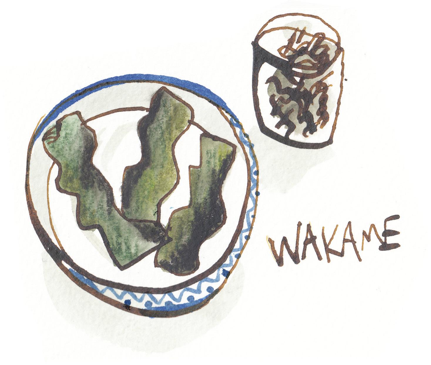Wakame.