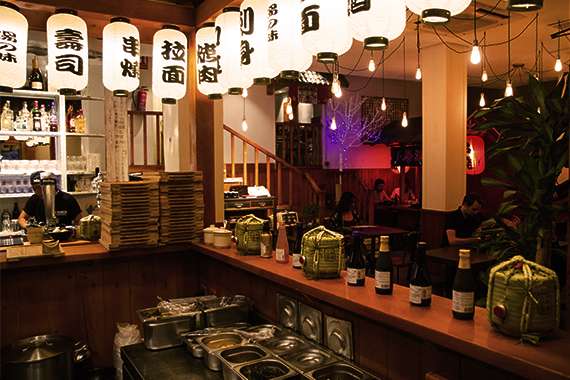 Restaurante Ninja Ramen.