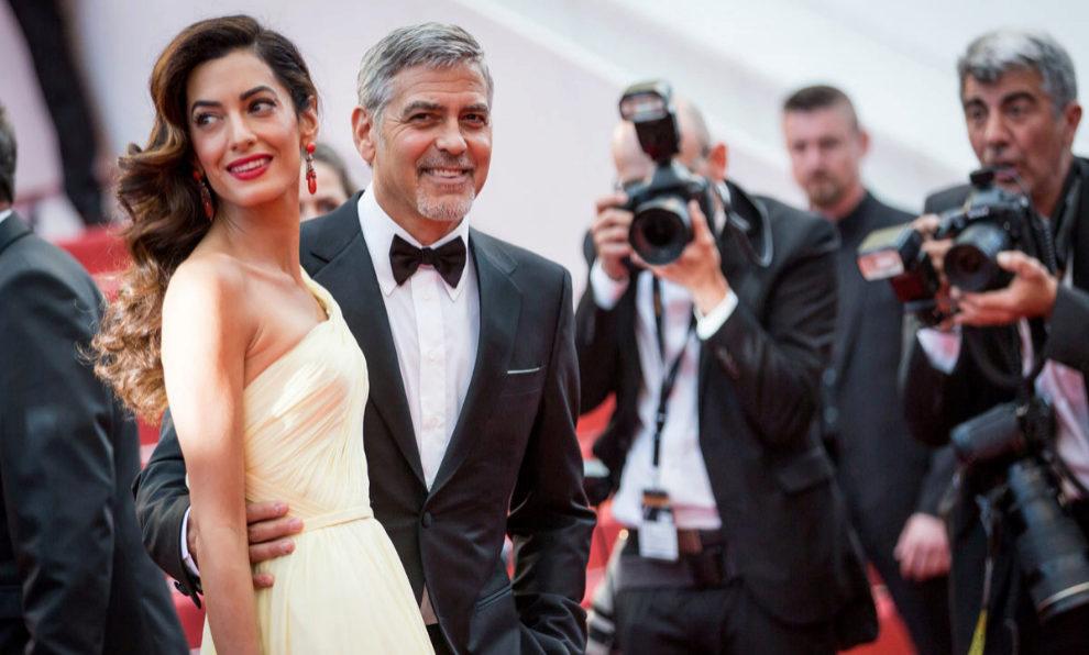 George Clooney  y Amal Alamuddin.