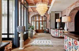 La sede de Soho House en Barcelona está en el Barrio Gótico, en un...