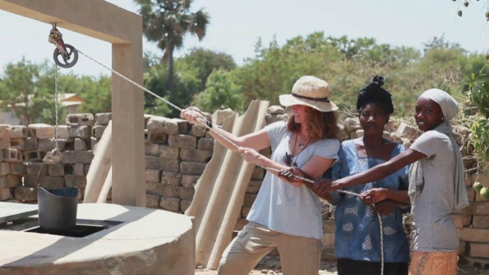 Blanca Suelves viajó a Senegal el año pasado con TELVA.