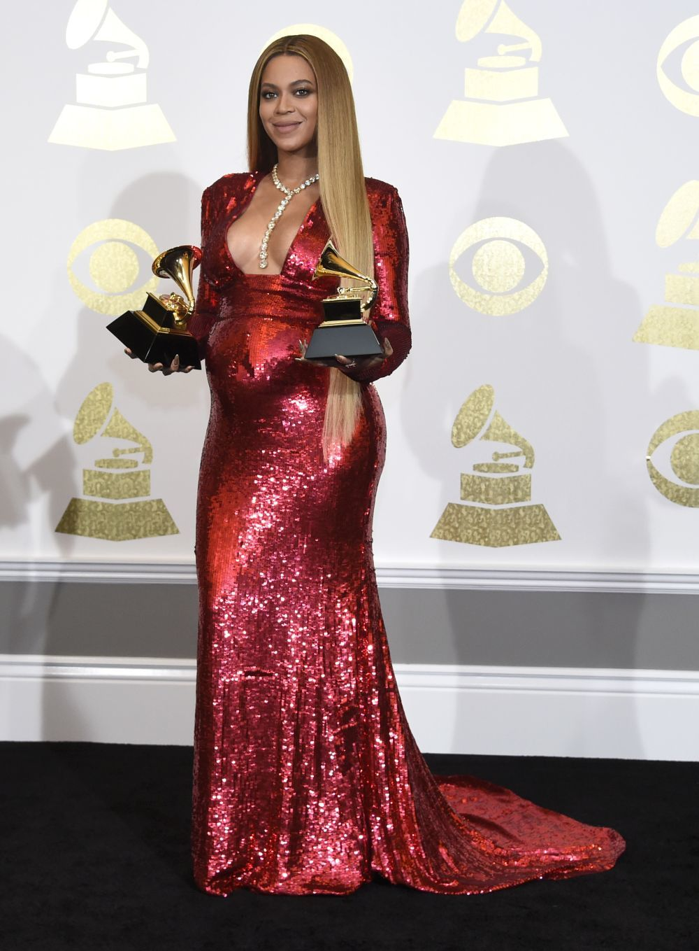 La artista, con ocho nominaciones, se alzó finalmente con dos Grammy.