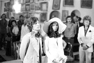 Bianca Jagger, la que fuera esposa de Mick Jagger fue una de las...