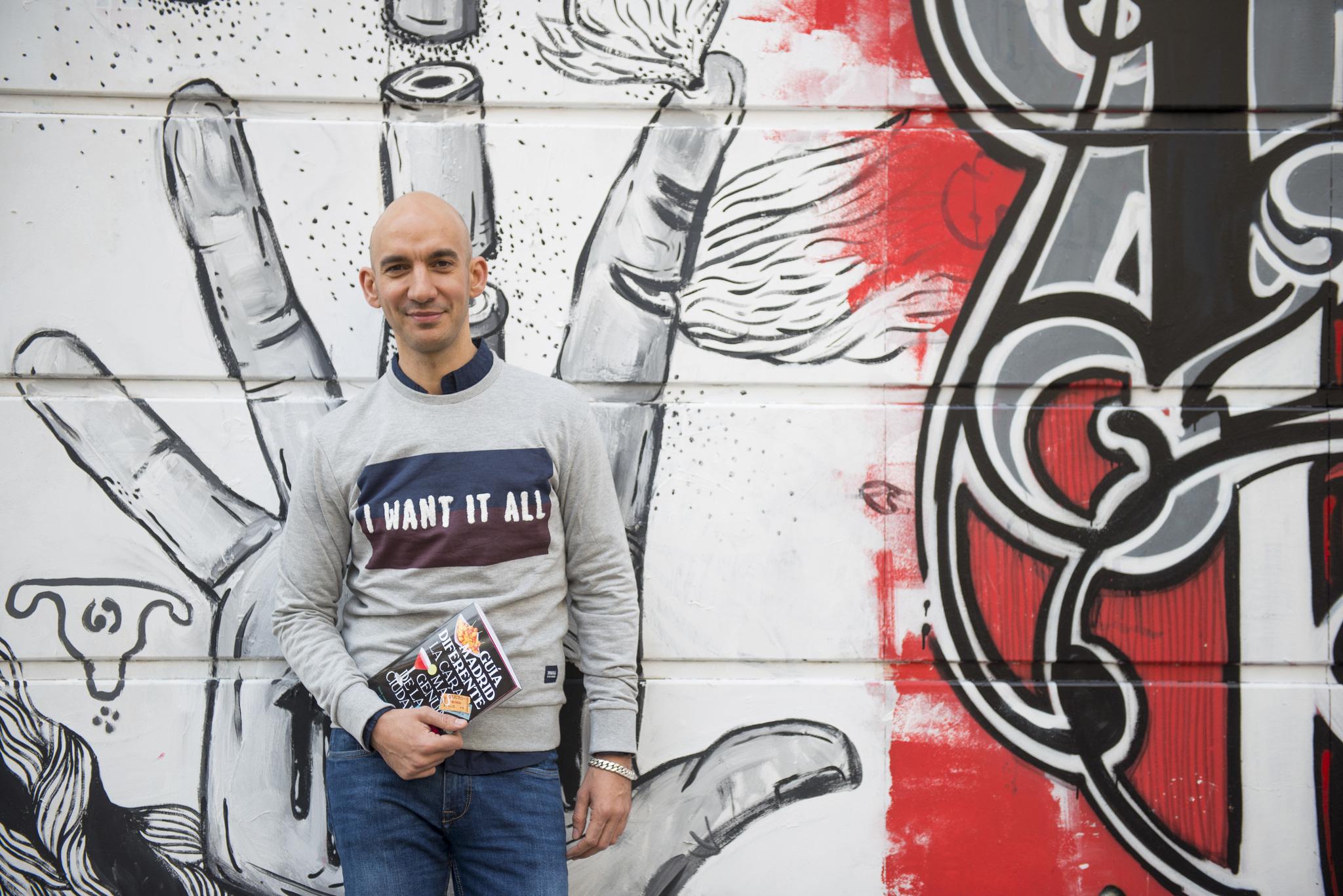 Martín López creador del blog 'Madrid Diferente'.