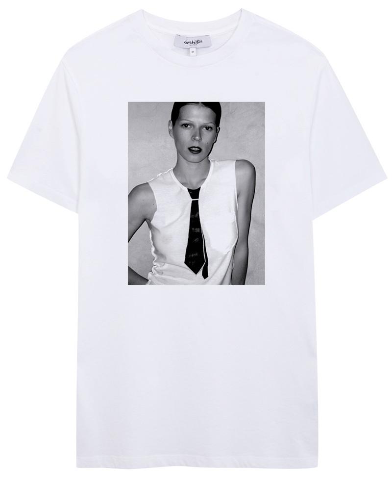 Camisetas solidarias en la web oficial de David Delfín.
