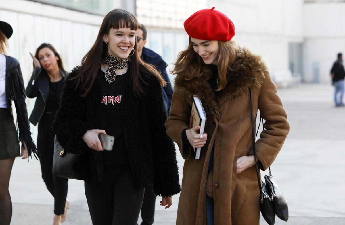 Street style: los mejores looks de la Madrid Fashion Week