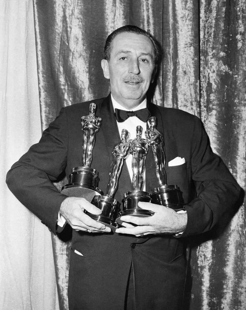 Walt Disney en los Oscar