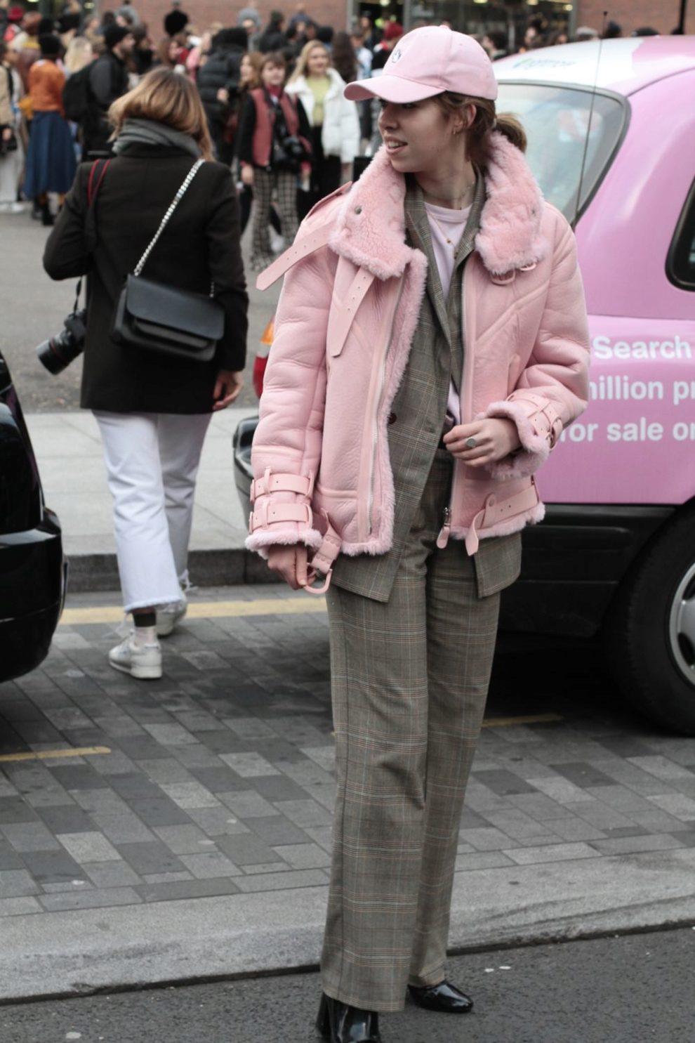 Street Style de Londres Fashion Week