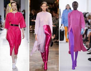 De izquierda a derecha Hermès, Vetements y Balenciaga.