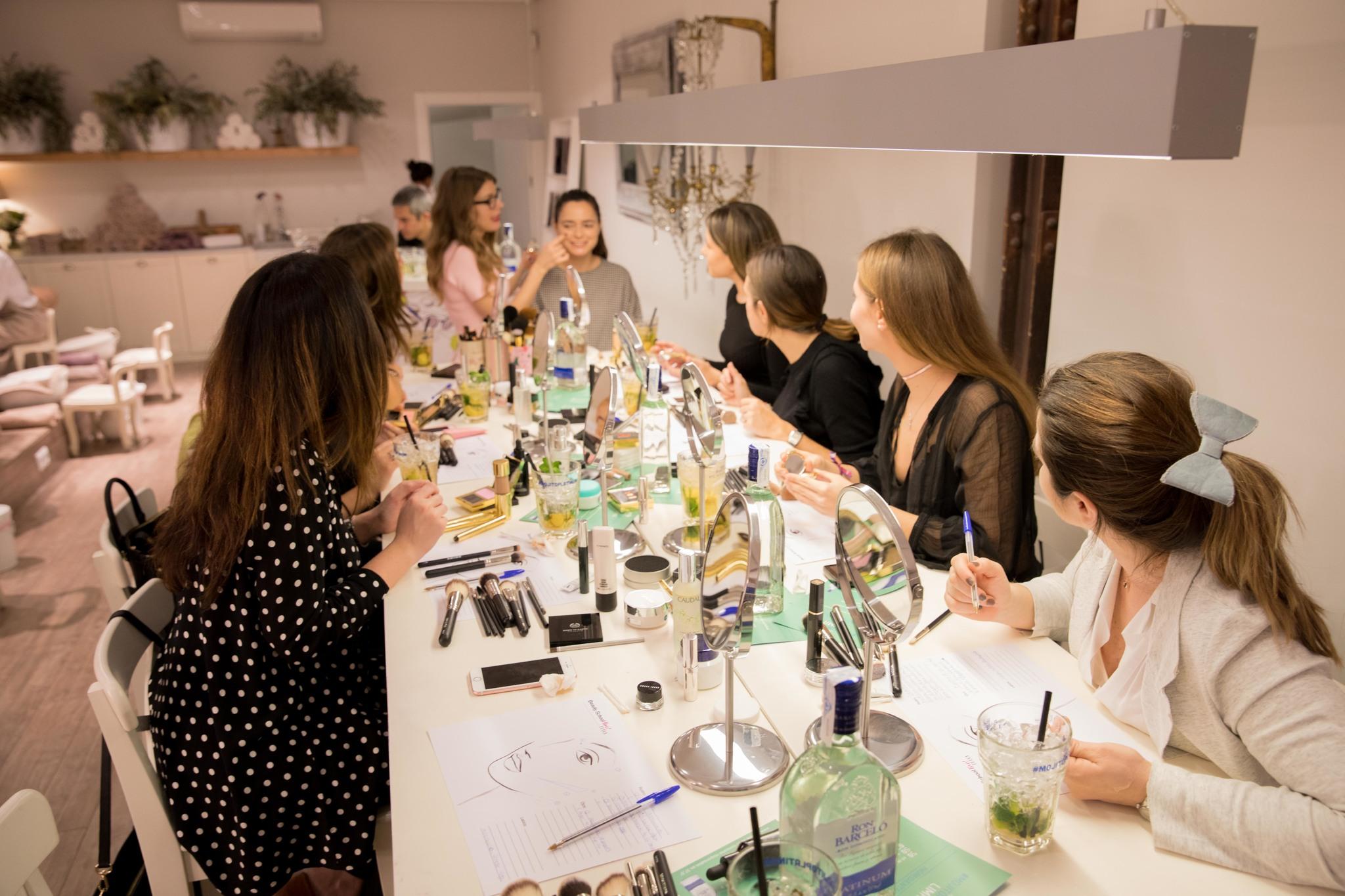 Así fue la primera sesión de Beauty School Live! en Madrid