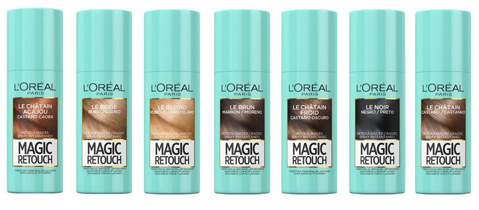 Magic Retouch, en 7 tonos diferentes.