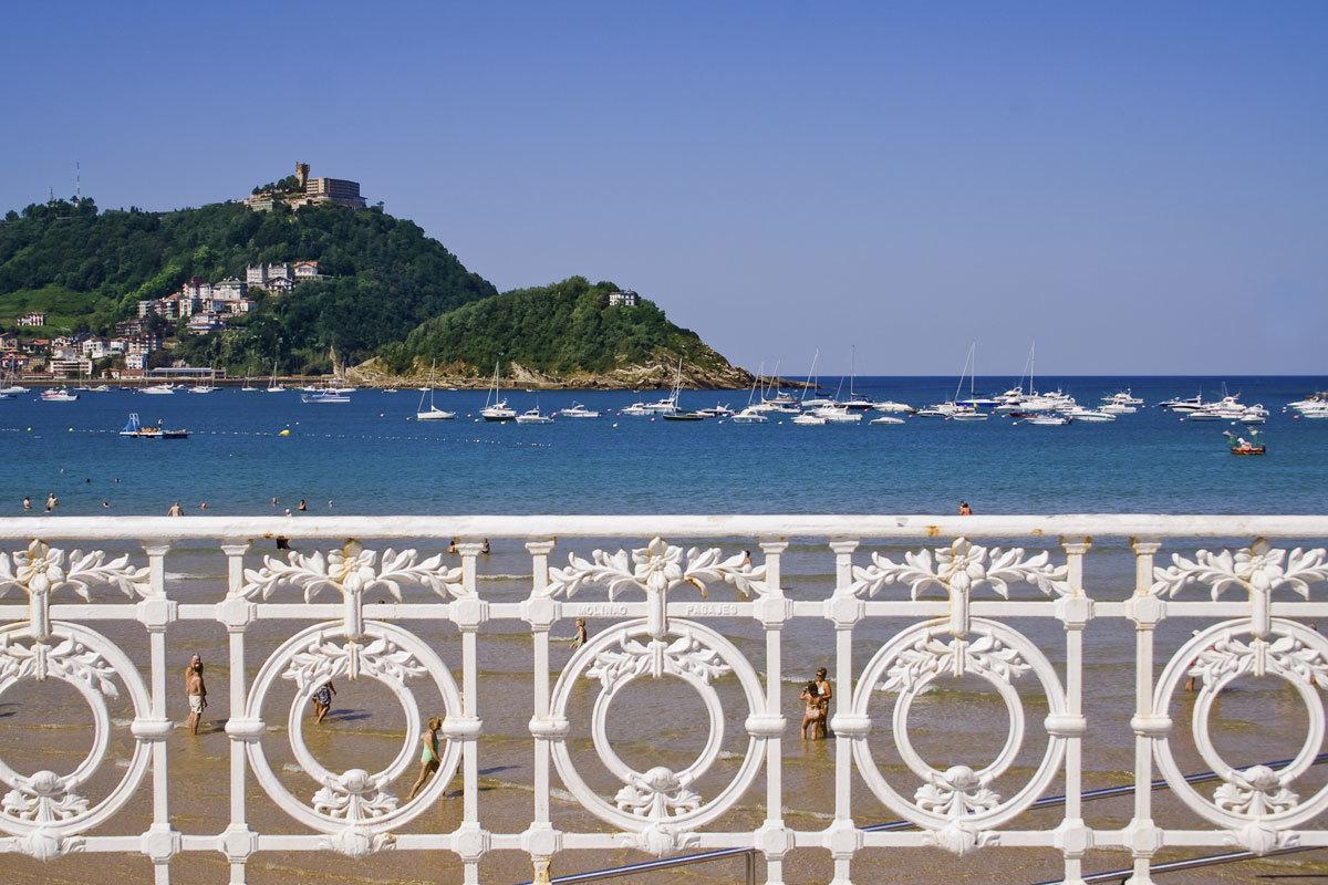 La Playa de la Concha ha sido premiada como la mejor de Europa y la...