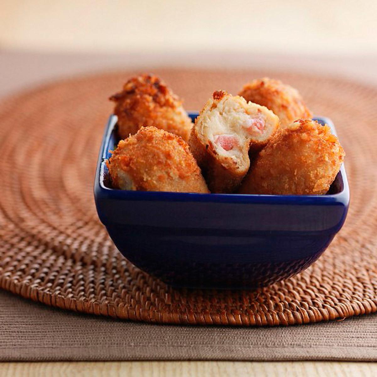 Croquetas de pollo.