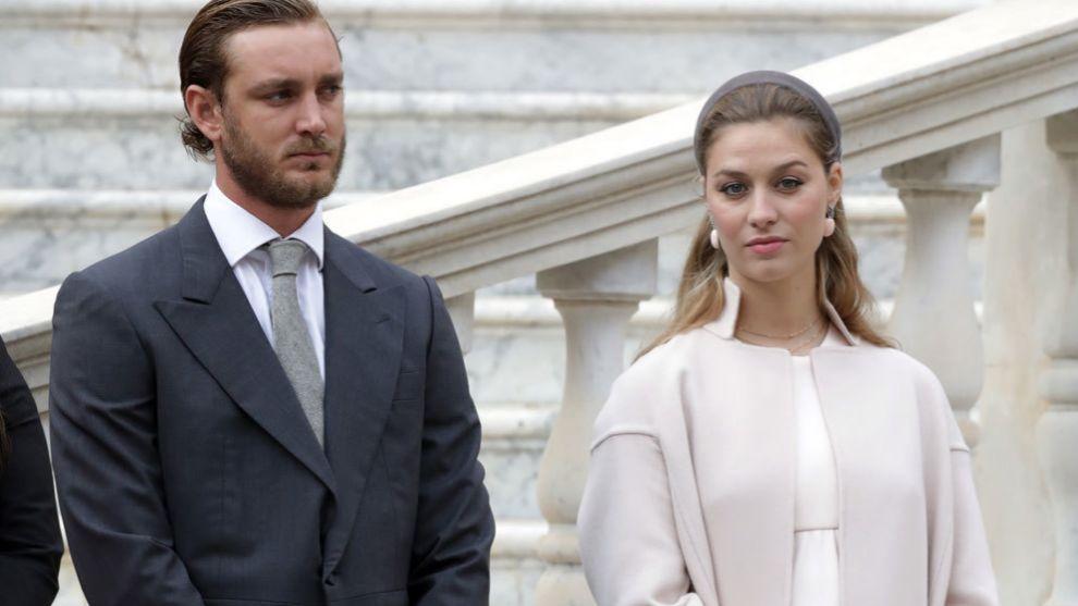 Beatrice Borromeo y Pierre Casiraghi durante el día Nacional de...