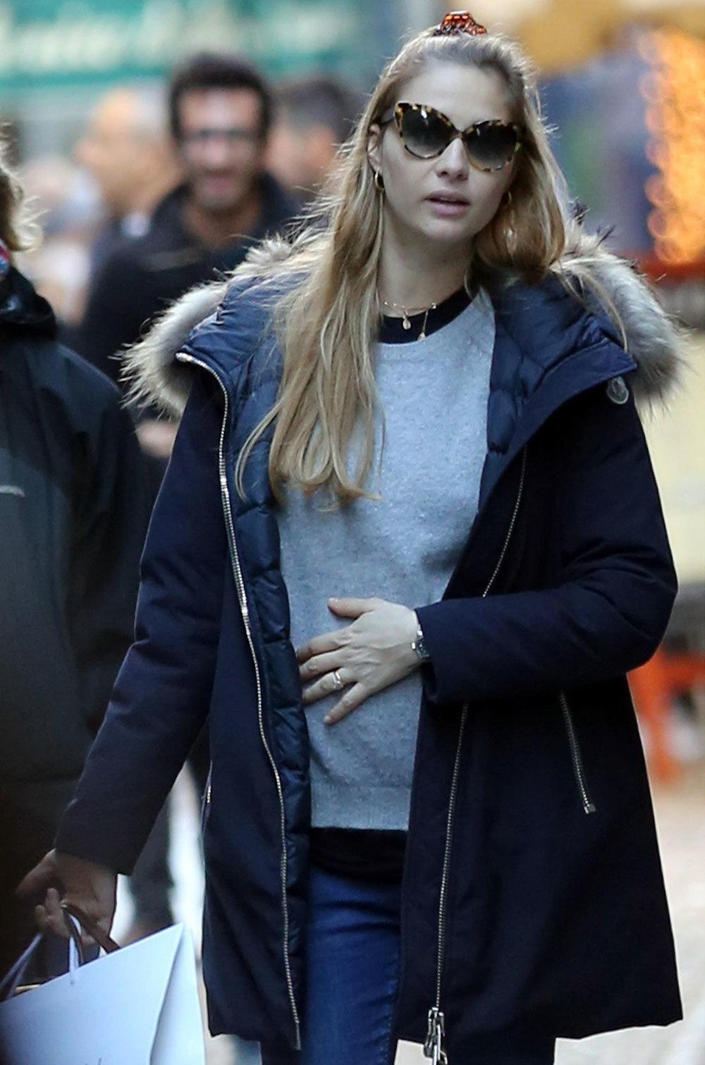 Beatrice Borromeo de compras por Milán el pasado mes de diciembre.