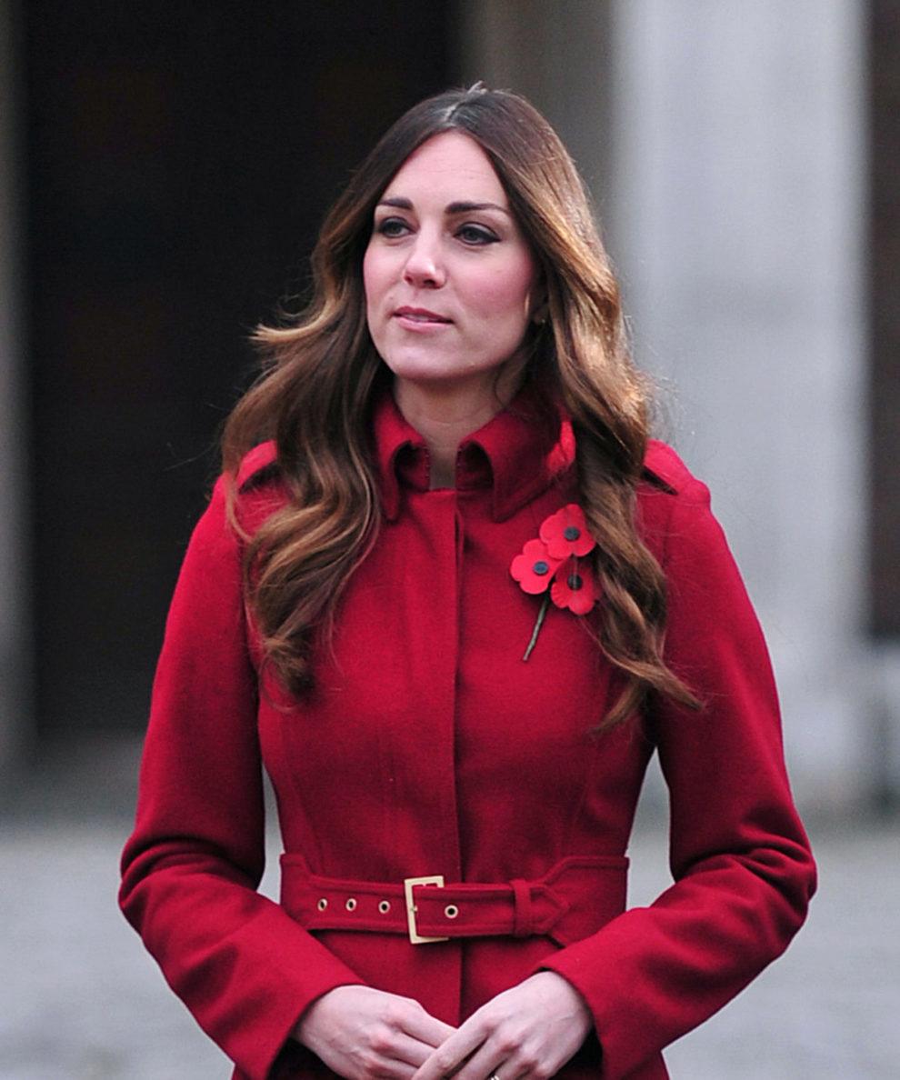 El pelo de Kate Middleton además requiere de cuidados hidratantes...