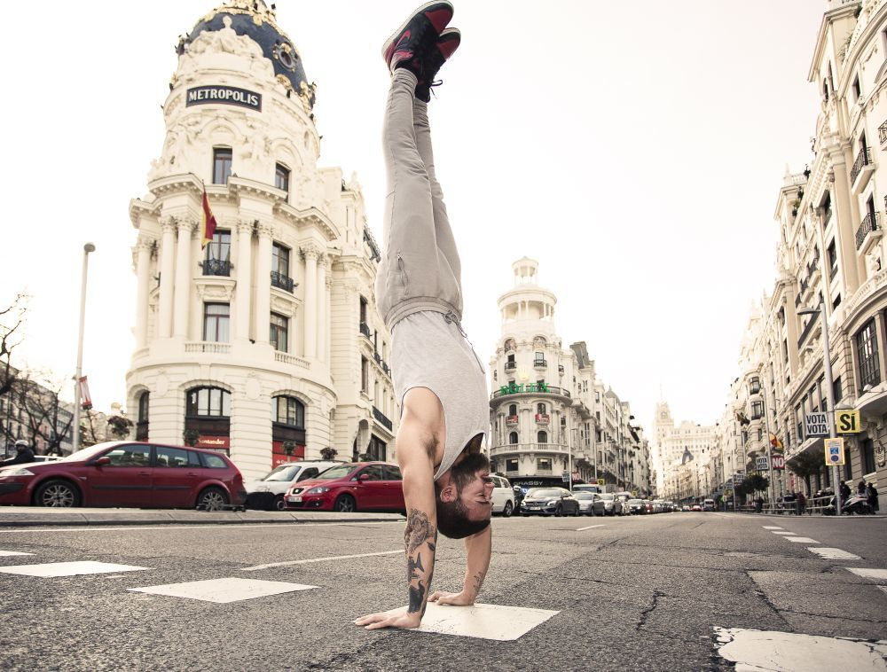 Patrick Beach vino a Madrid para presentar Mind Body, su nuevo...