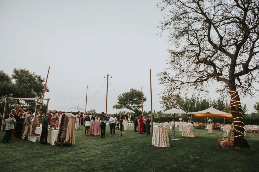 Gina y Miguel Ángel se casaron en El Jardín de Villa Vega en Los...