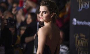 Emma Watson durante la presentación de La Bella y la Bestia