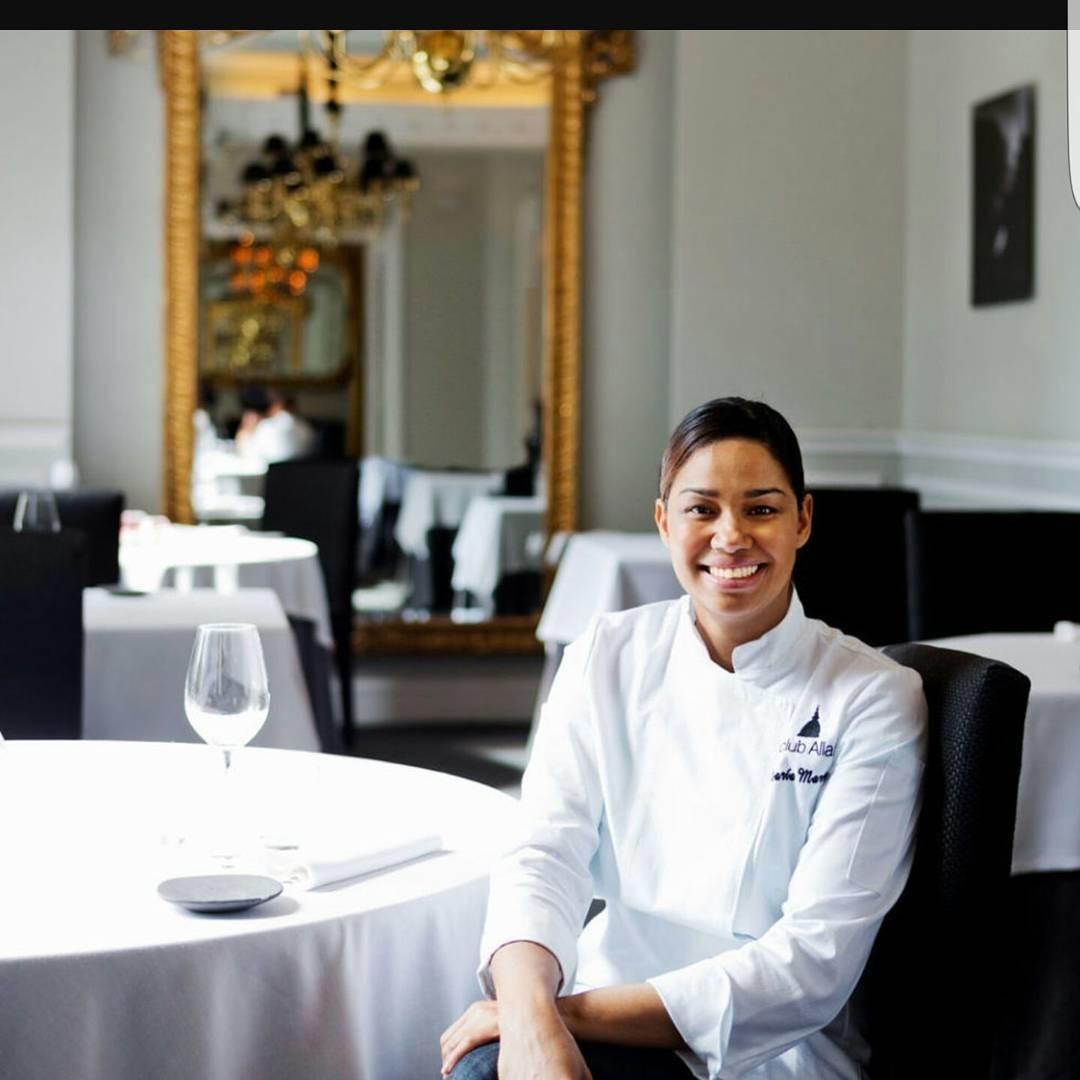 La chef, formada en República Dominicana (su país natal) llegó a...