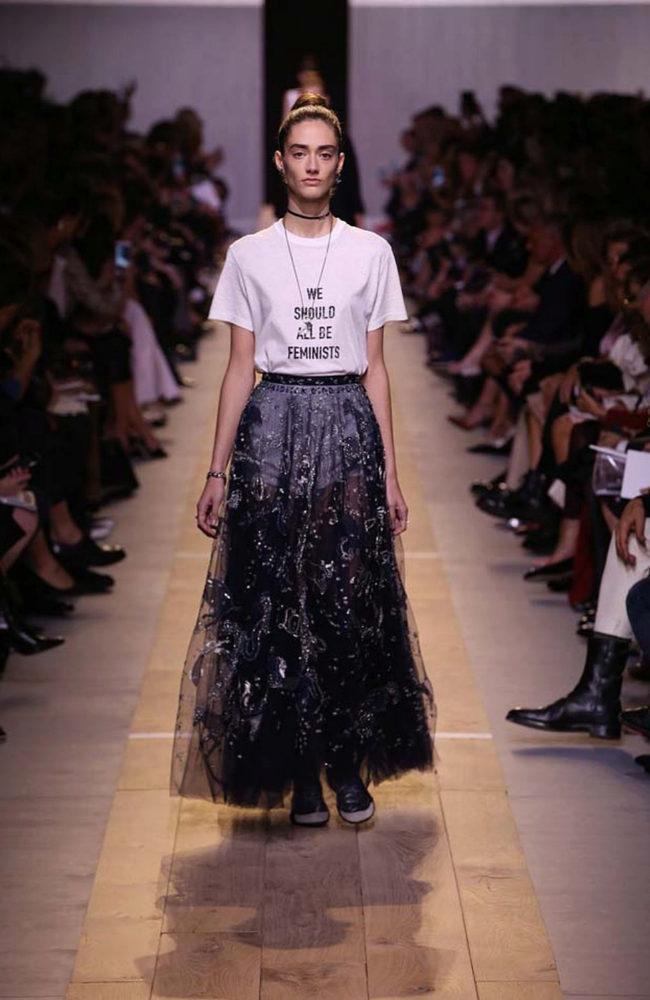 La camiseta de Dior ha supuesto un éxito mediático