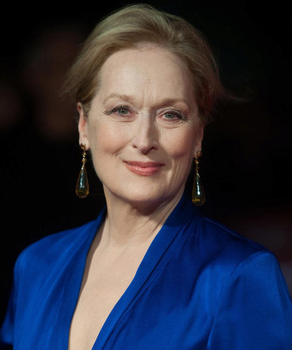 Meryl Streep critica el hecho de permanecer joven a golpe de bisturí...
