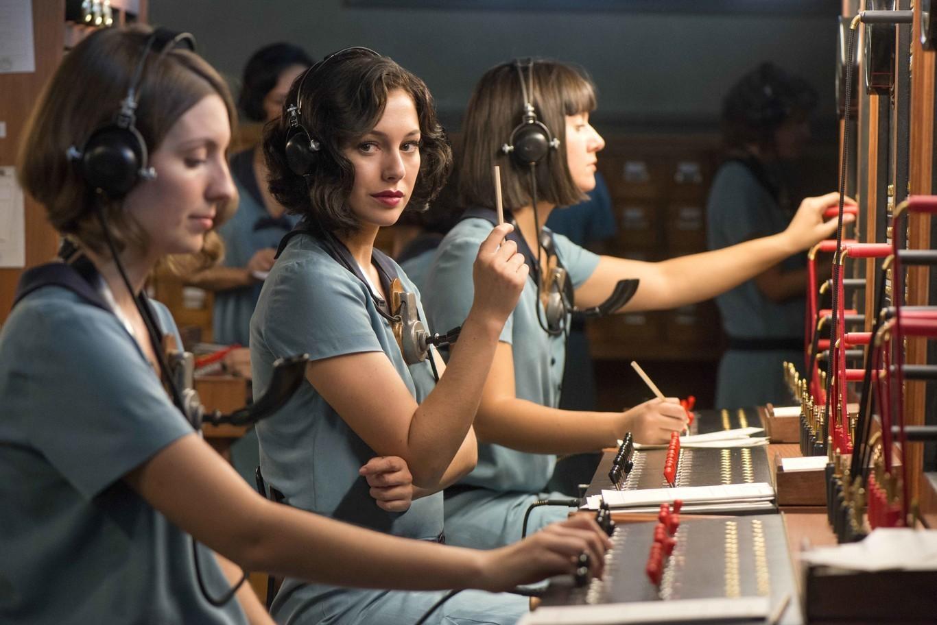 Fotograma de 'Las chicas del cable'.