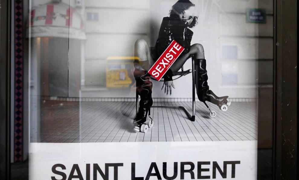 Campaña de Yves Saint Laurent