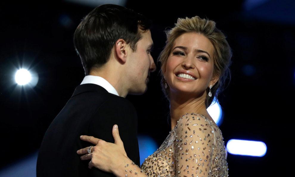 Ivanka Trump y Jared Kushner.