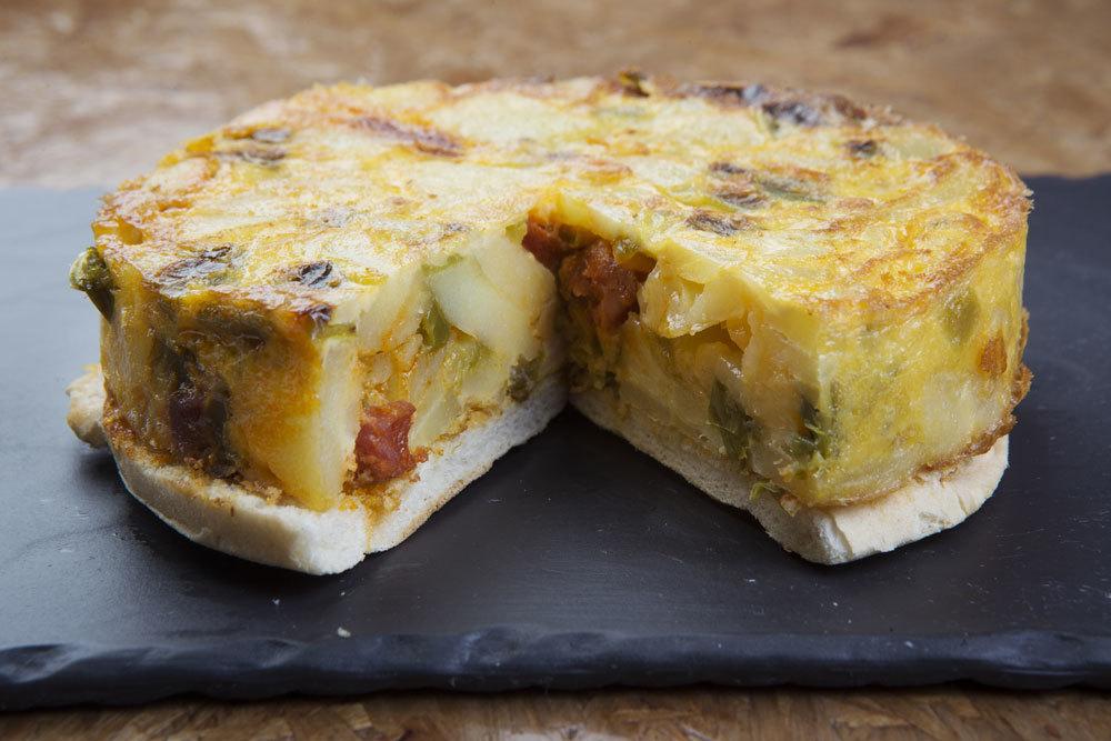 Tortilla de La Clueca.