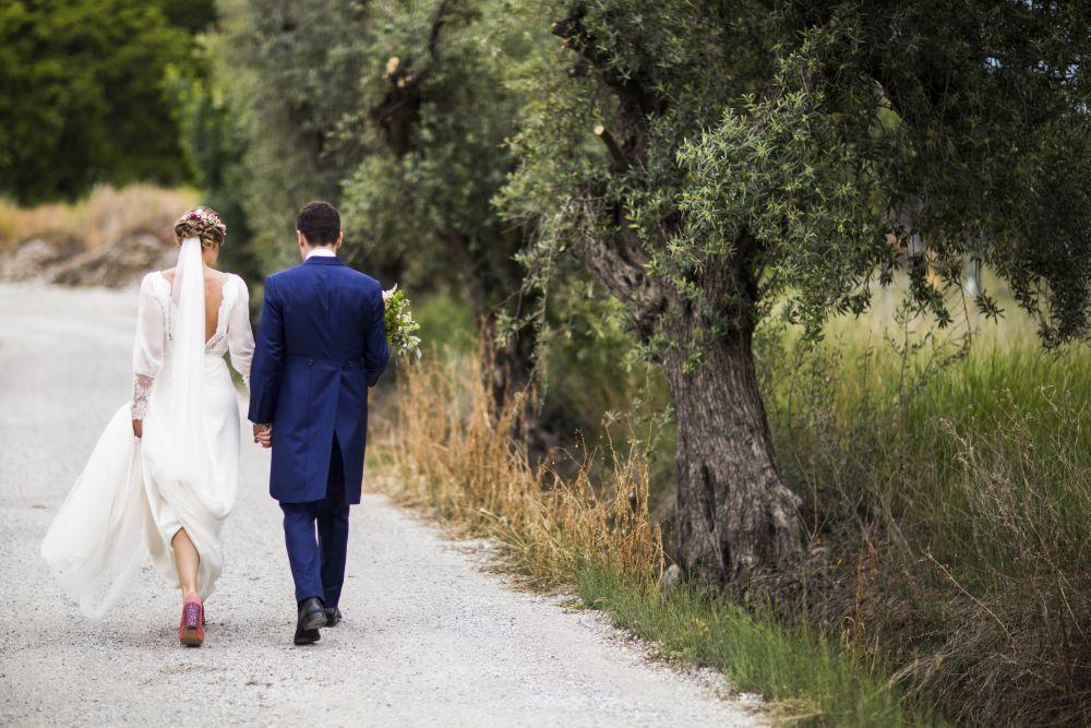 Lorena y Alejandro se casaron en una boda llena de detalles en un...