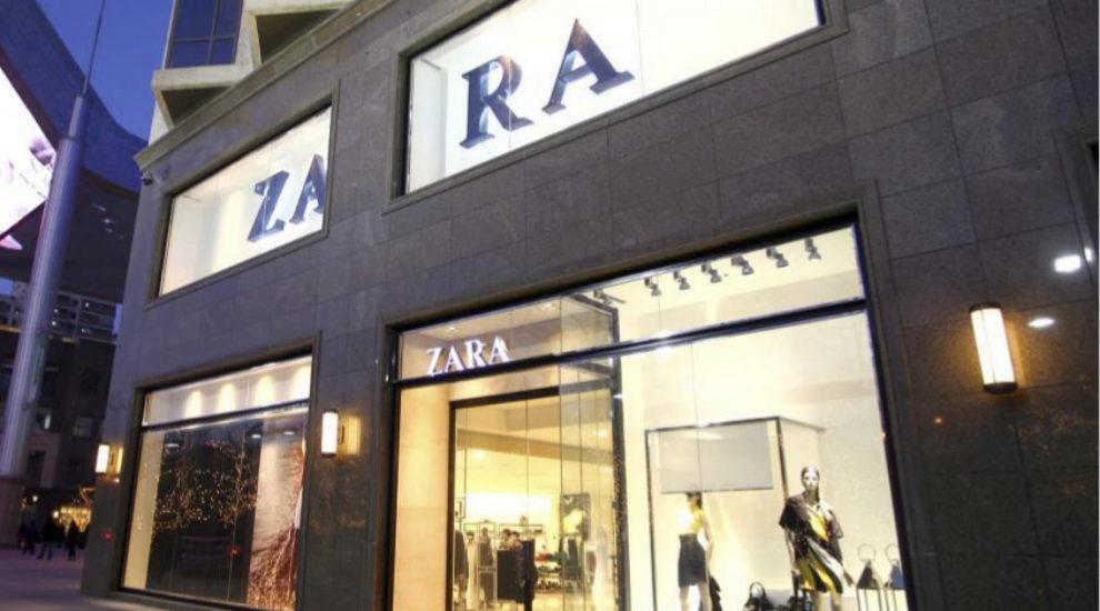 Escaparate de Zara.