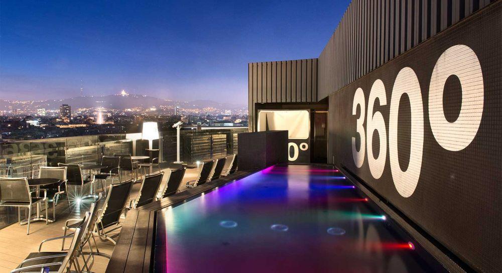 Terraza 360º del hotel Barceló Raval  (Rambla del...