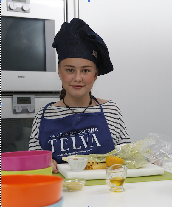 Alumna de la Escuela de Cocina TELVA.