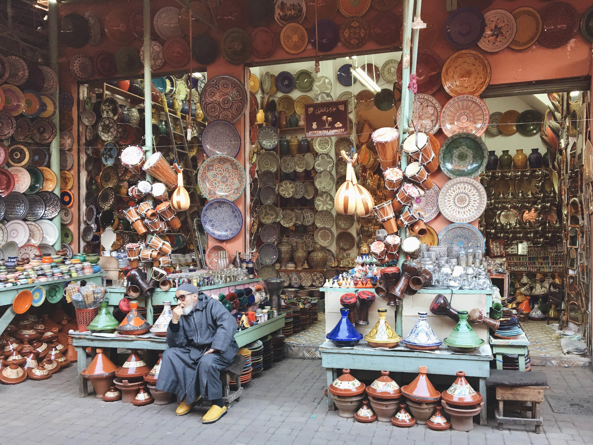 Cerámica Marruecos.