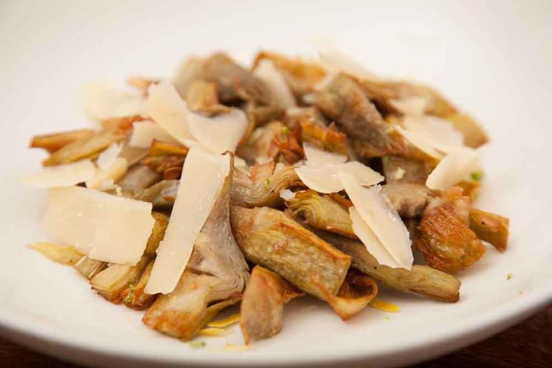 Las famosas alcachofas fritas de MyVeg