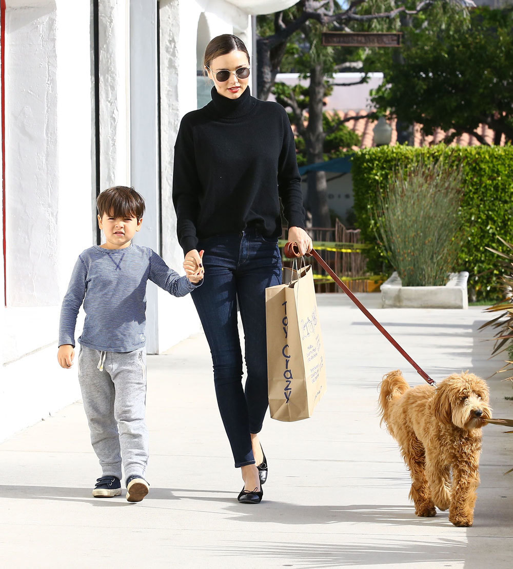 Miranda Kerr y Flynn Bloom