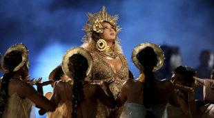Beyoncé en los Premios Grammy.