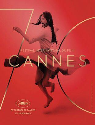 Cartel Cannes 70 Aniversario