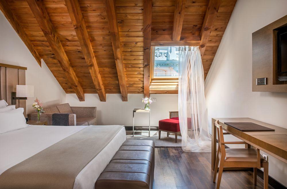 Una habitación del NH Collection Madrid Palacio de Tepa.
