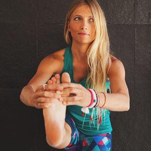 Nuestra yogui, Lucía Liencres