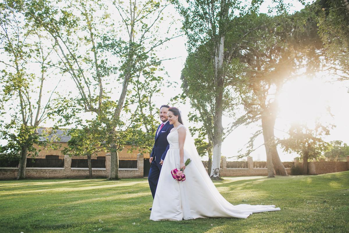 Rebeca y Javier se casaron en una boda en original y muy personal en...