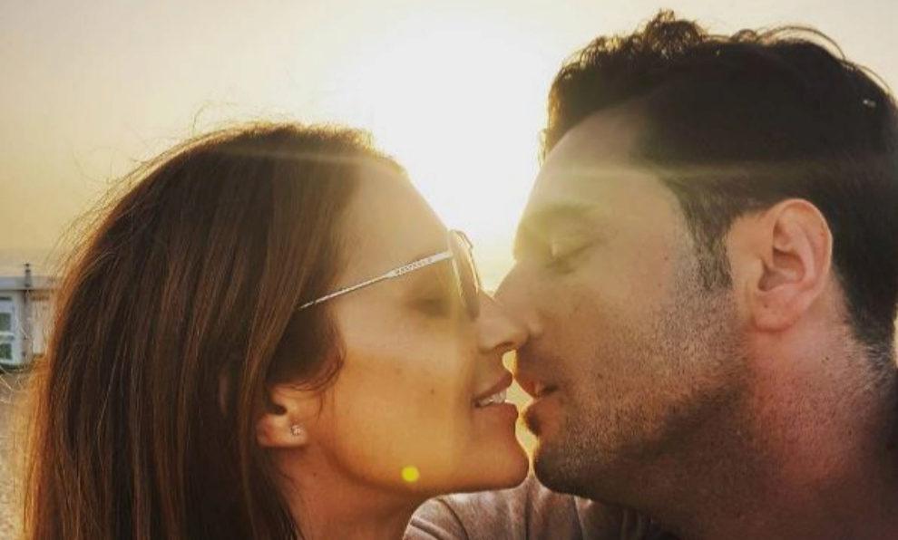 Paula Echevarría y David Bustamante en una de sus últimas fotos...