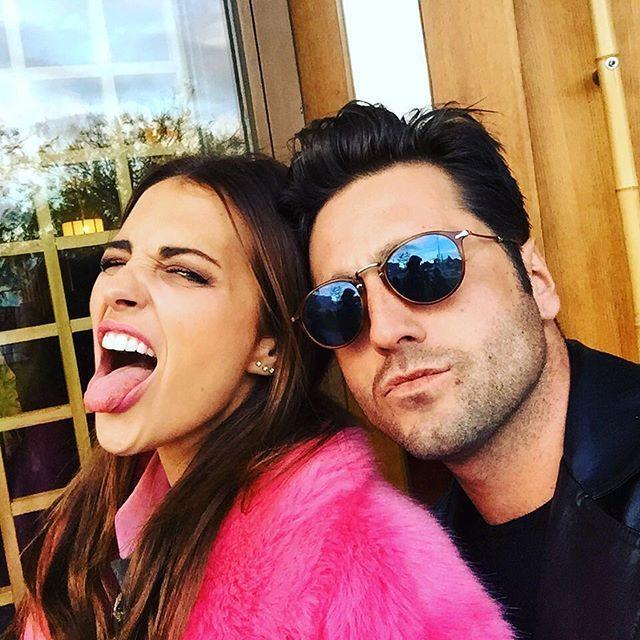 Paula Echevarría y David Bustamante, en una de las imágenes que...
