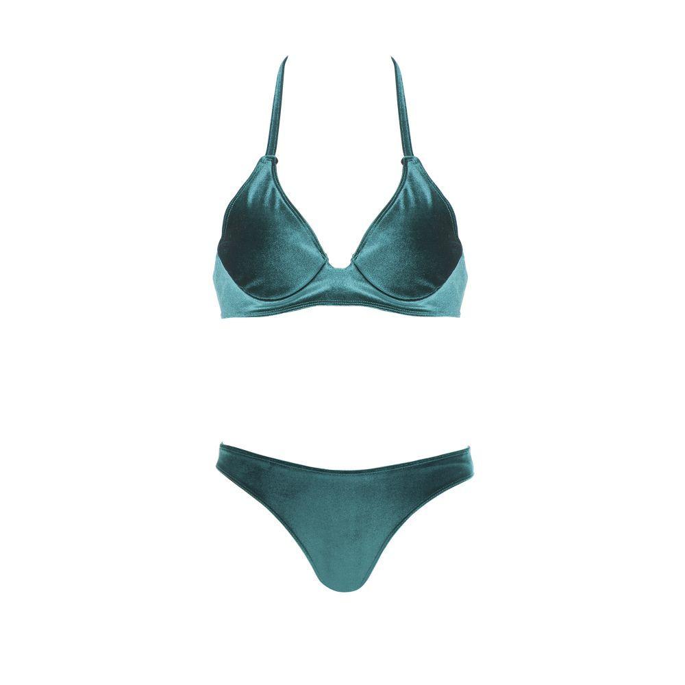 Bikini velvet de Luna Beach Swimwear. 120 euros.