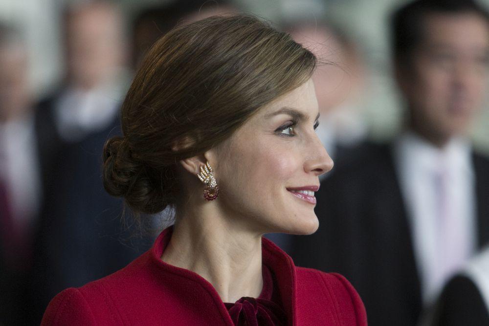 Los pendientes de Letizia pertenecen a la Reina Sofía
